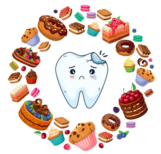 蛀牙的原因